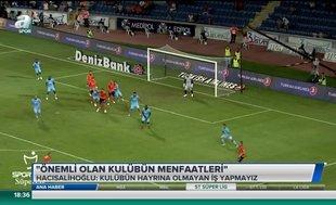 Hayrettin Hacısalihoğlu: Önemli olan kulübün menfaatleri
