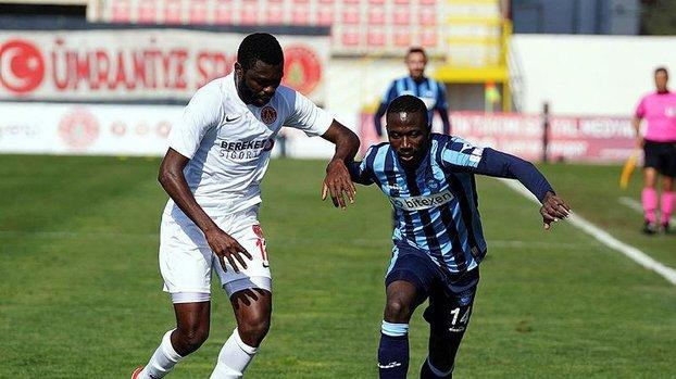 Ümraniyespor Adana Demirspor 0-0 (MAÇ SONUCU - ÖZET) #