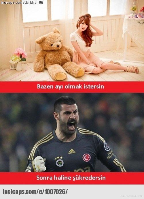 Türkiye - Brezilya maçı caps'leri