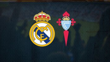 Real Madrid - Celta Vigo maçı saat kaçta ve hangi kanalda?