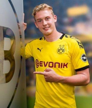 Borussia Dortmund Julian Brandt'ı renklerine bağladı