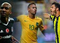 Samba d'Or ödülünün sahibi Neymar