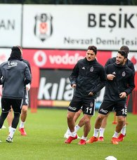 Beşiktaşta hazırlıklar başladı