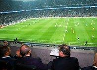 Cumhurbaşkanı Erdoğan Vodafone Park'ta
