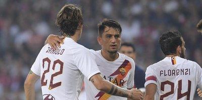 Roma hazırlık maçında Lille'i yendi