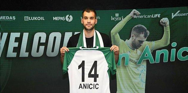 Konyaspor, Marin Anicic ile 2+1 yıllık sözleşme imzaladı