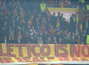 Galatasaraylılar Atleticoyla dalga geçti