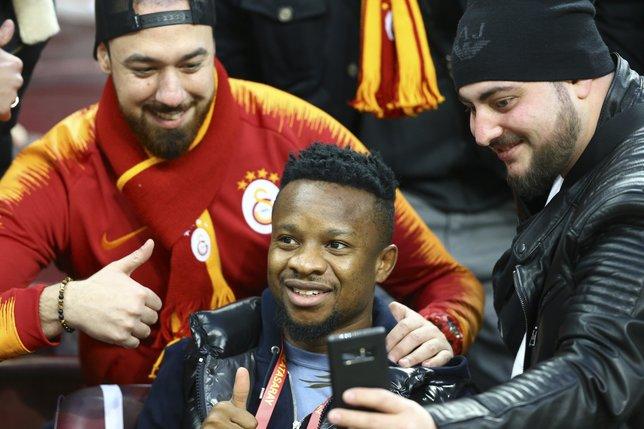 Galatasaray - Trabzonspor maçından kareler