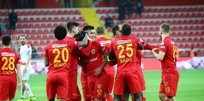 Mendes, Kayserispor tarihine geçti