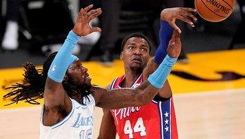 76ers Lakers'ı devirdi! 4'te 4 yaptı