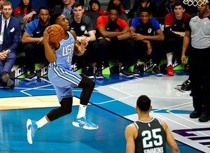 Cedi Osman, NBA All-Star Yükselen Yıldızlar maçında yer aldı