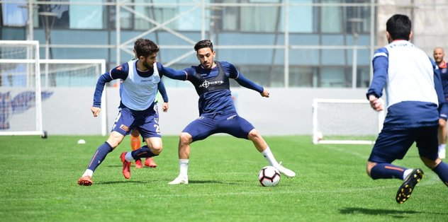 Medipol Başakşehir'de Göztepe maçı hazırlıkları
