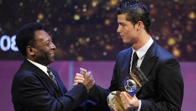 Pele Ronaldo'nun gol rekoru kırdığını kabul etti!