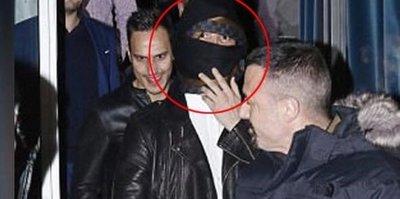 Ronaldo'dan ilginç tepki! Böyle gizlendi...