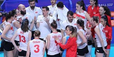 A Milli Kadın Voleybol Takımı Almanya'yı 3-0 mağlup etti
