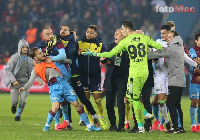 Trabzonspor Fenerbahçe maçı sonrası olay! Emre Belözoğlu...
