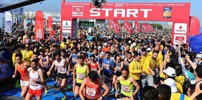 Vodafone İstanbul Yarı Maratonu, yarın yapılacak
