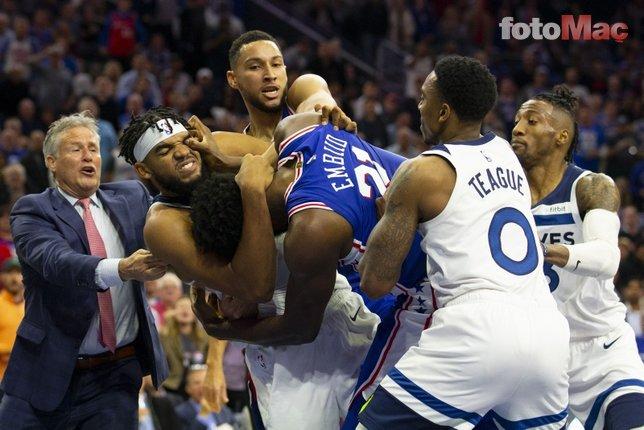 NBA'de ortalık fena karıştı!