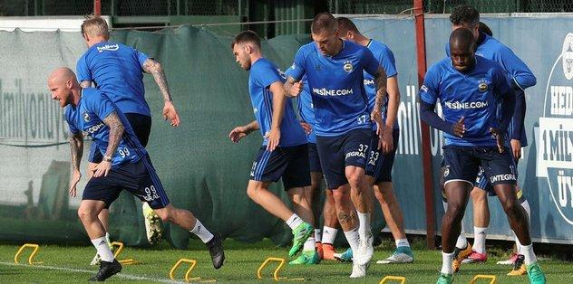 Trabzonspor maçı hazırlıkları sona erdi