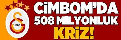 Galatasaray'da 508 milyonluk kriz!