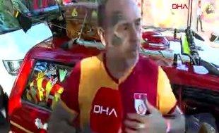 'Galatasaraylı araba'yı görenler gözlerine inananmıyor!