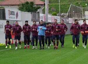 Trabzonspor'da Sivas Belediyespor maçı hazırlıkları başladı