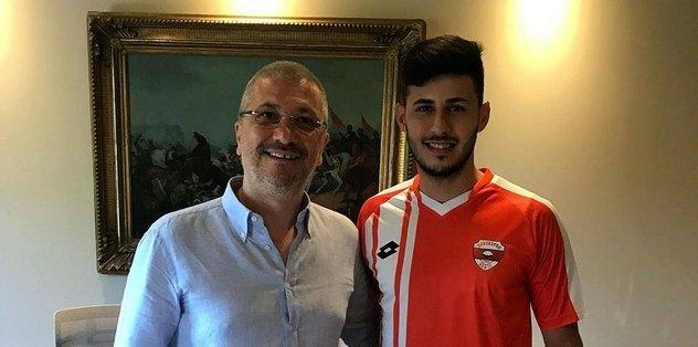 Adanaspor Eren Keleş'i transfer etti