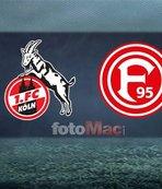 Köln - Fortuna Düsseldorf maçı hangi kanalda, saat kaçta? Muhtemel 11'ler...