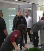 Beşiktaş Sarpsborg maçı için Norveç'e gitti