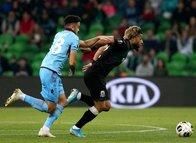 Krasnodar - Trabzonspor maçından kareler