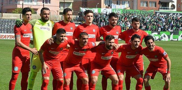 Nazilli Belediyespor galibiyete kilitlendi