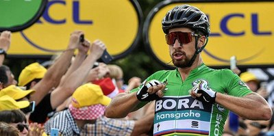 Fransa Bisiklet Turu'nun 5. etabını Peter Sagan kazandı