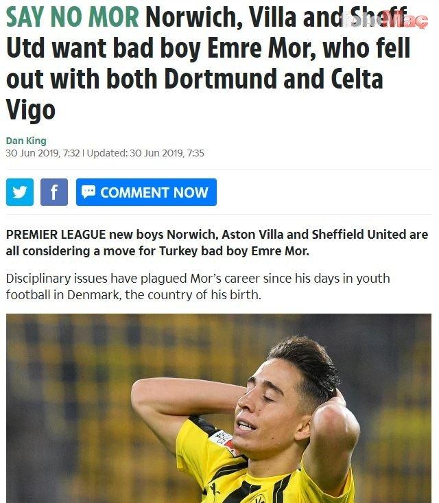 Emre Mor'a sürpriz talip! Premier Lig'den...