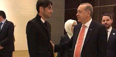 Burak'tan Erdoğan'a ziyaret