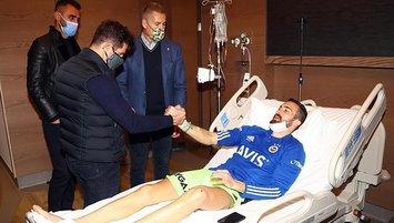 Fenerbahçe'den kaleci Harun Tekin'e moral ziyareti!