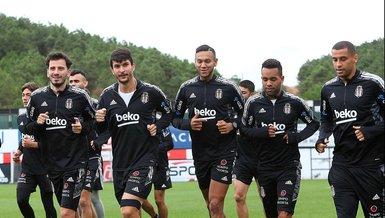 Beşiktaş Başakşehir maçı hazırlıklarını sürdürdü!