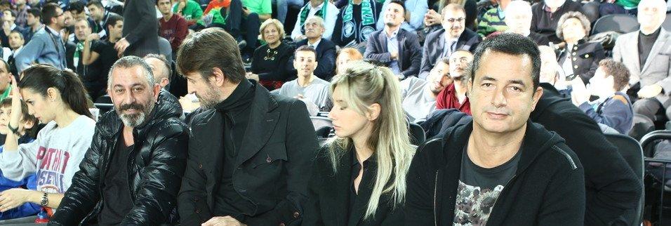 Darüşşafaka Doğuş - Maccabi maçında yıldızlar geçidi