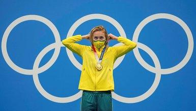 Son dakika 2020 Tokyo Olimpiyat Oyunları: Kadınlar 400 metrede Ariarne Titmus altın madalyaya uzandı