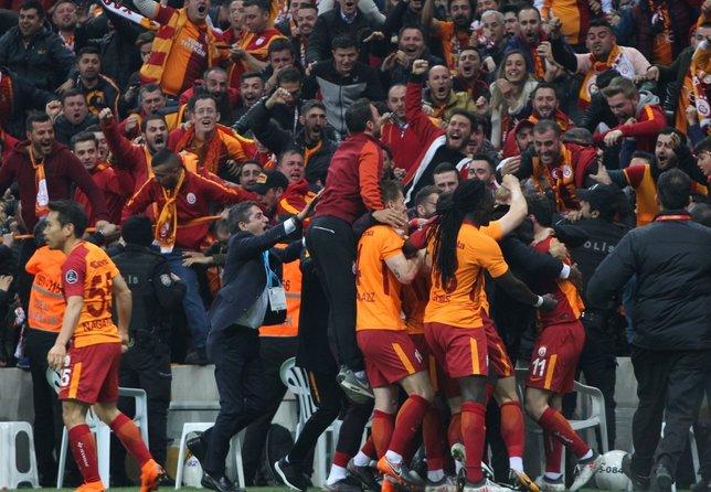 Galatasaray, Barcelonayı solladı
