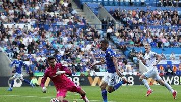 Çağlar'lı Leicester Burnley'e takıldı!