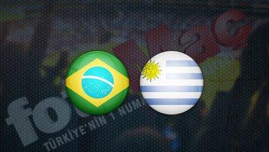Brezilya - Uruguay maçı ne zaman? Saat kaçta? Hangi kanalda canlı yayınlanacak?   Dünya Kupası Elemeleri