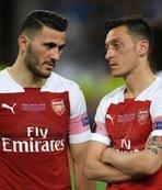 Arsenal'lı yıldızın eşi Londra'da gözaltına alındı!