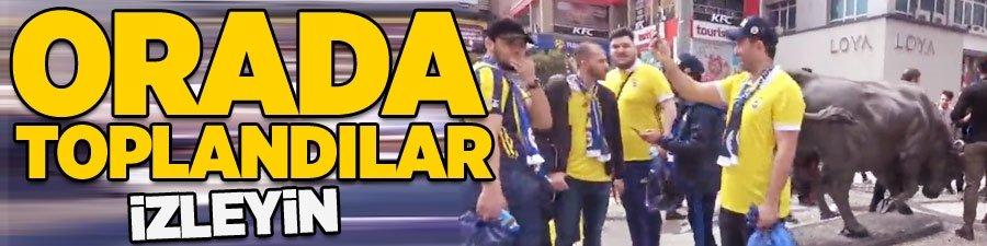 Fenerbahçeliler orada toplandı!