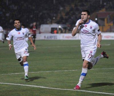 Gaziantepspor - Trabzonspor Spor Toto Süper Lig 14. hafta maçı