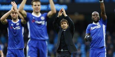 Conte, Guardiola'nın düellosunda kazanan Chelsea