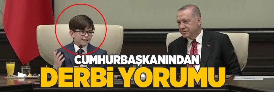 Cumhurbaşkanı Erdoğan koltuğunu Fatih Mintaş'a devretti