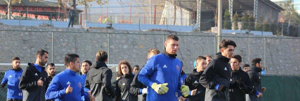 Karabükspor'da Fenerbahçe maçı hazırlıkları