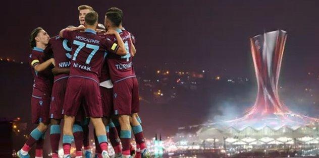 Trabzonspor'dan UEFA Avrupa Ligi paylaşımı!