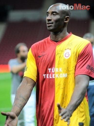Kobe Bryant ve Fatih Terim Galatasaray'da birleşmişti! İşte o anlar...