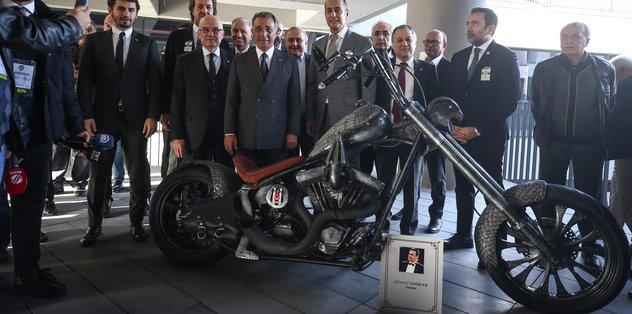 Beşiktaş Müzesine anlamlı hediye